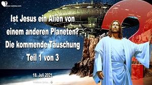 Alien von einem anderen Planeten