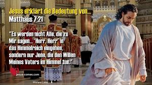 Matthäus 7-21
