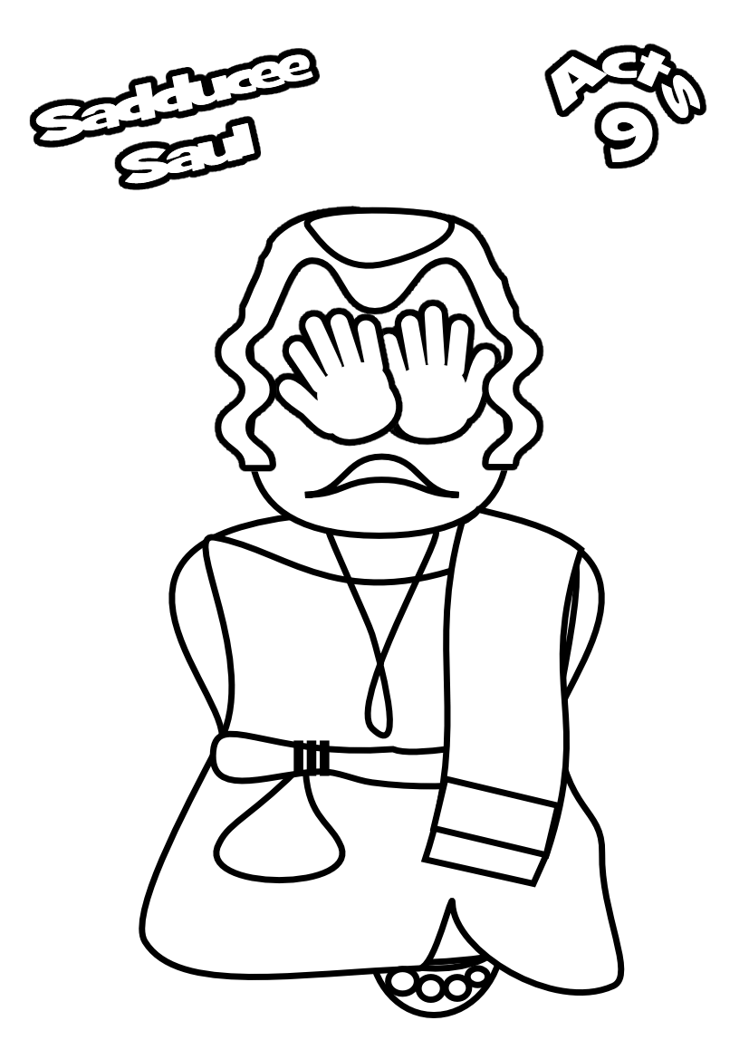 Paul Damascus Coloring Pages Coloring Pages
