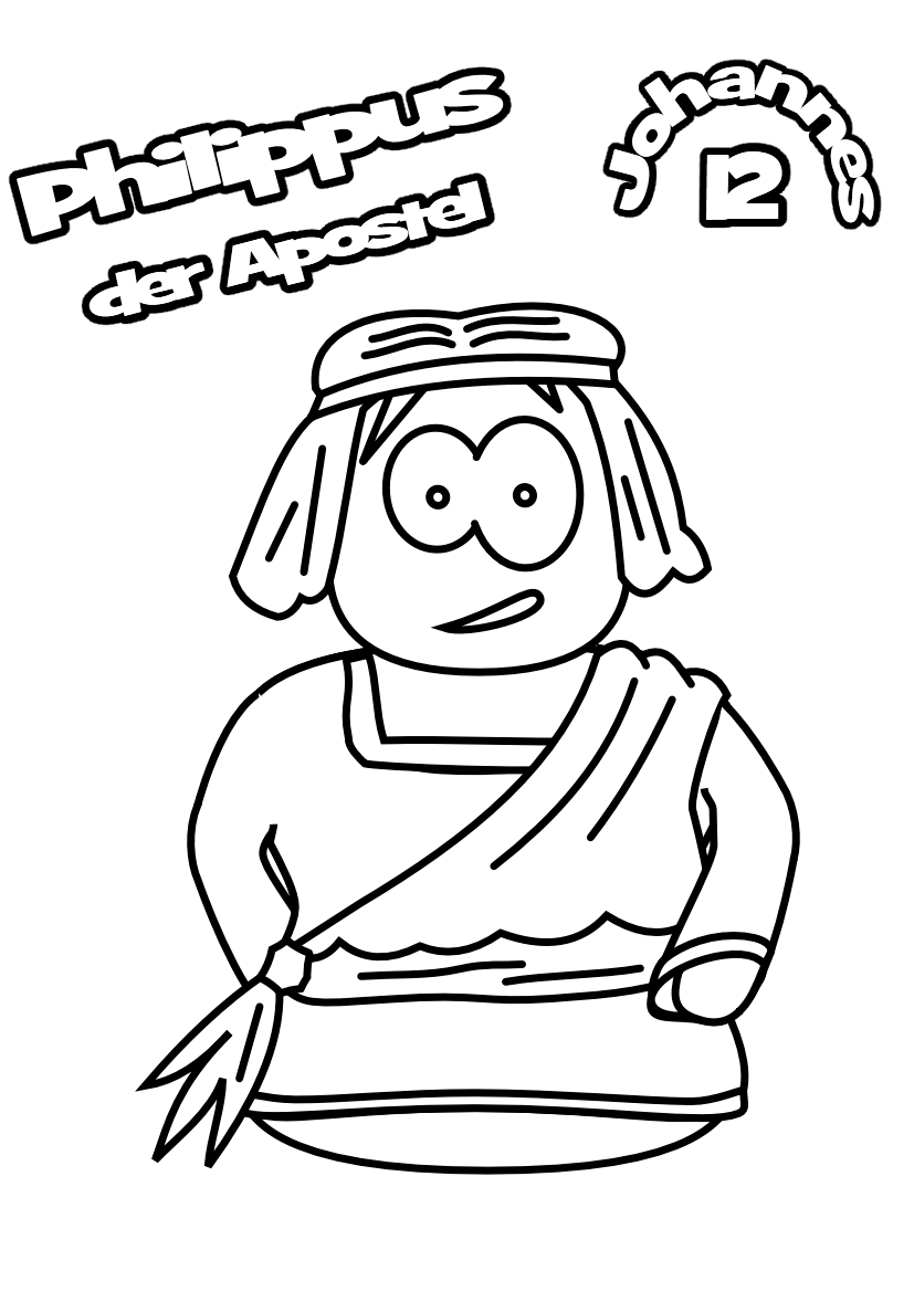 free coloring pages of the heroes of the bible auto electrical Bryant Furnace Wiring Block apostle philip john 12