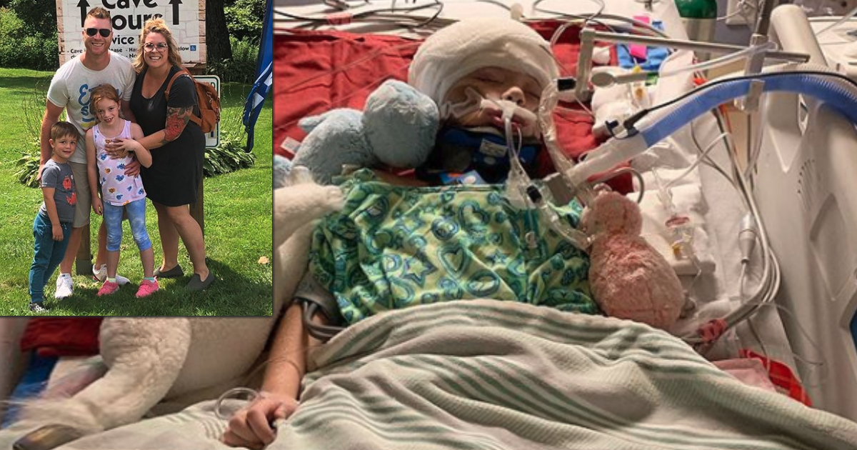 Mom Begs For Prayers After Freak Golf Cart Accident Has 7