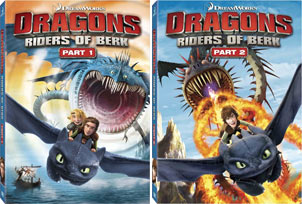 Dragons: Riders of Berk (Part 1 and Part 2)