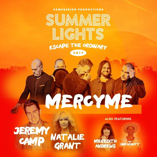 78979c1710b1 New Summer Lights Tour To Feature Mercy Me