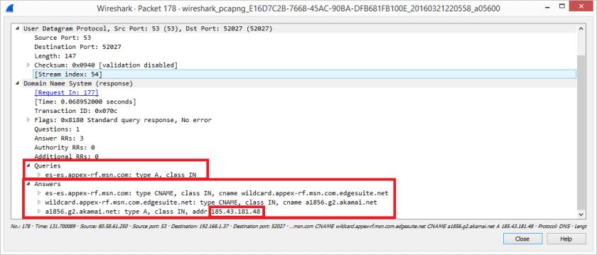 Análisis de tráfico con Wireshark Arrancar Explorer.exe 2