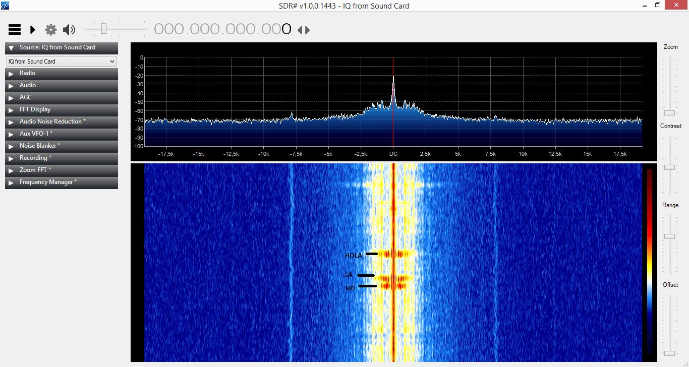 Analizar frecuencias de audio con SDRSharp (reconocer la ...