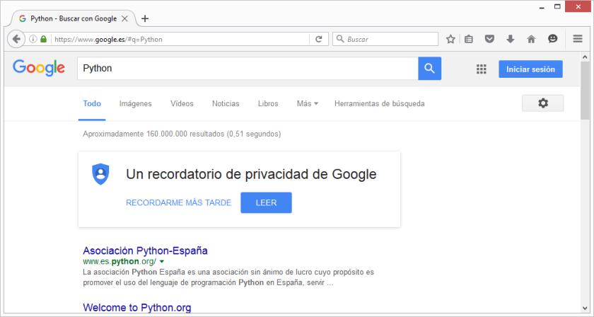 FirefoxBuscarGooglePython