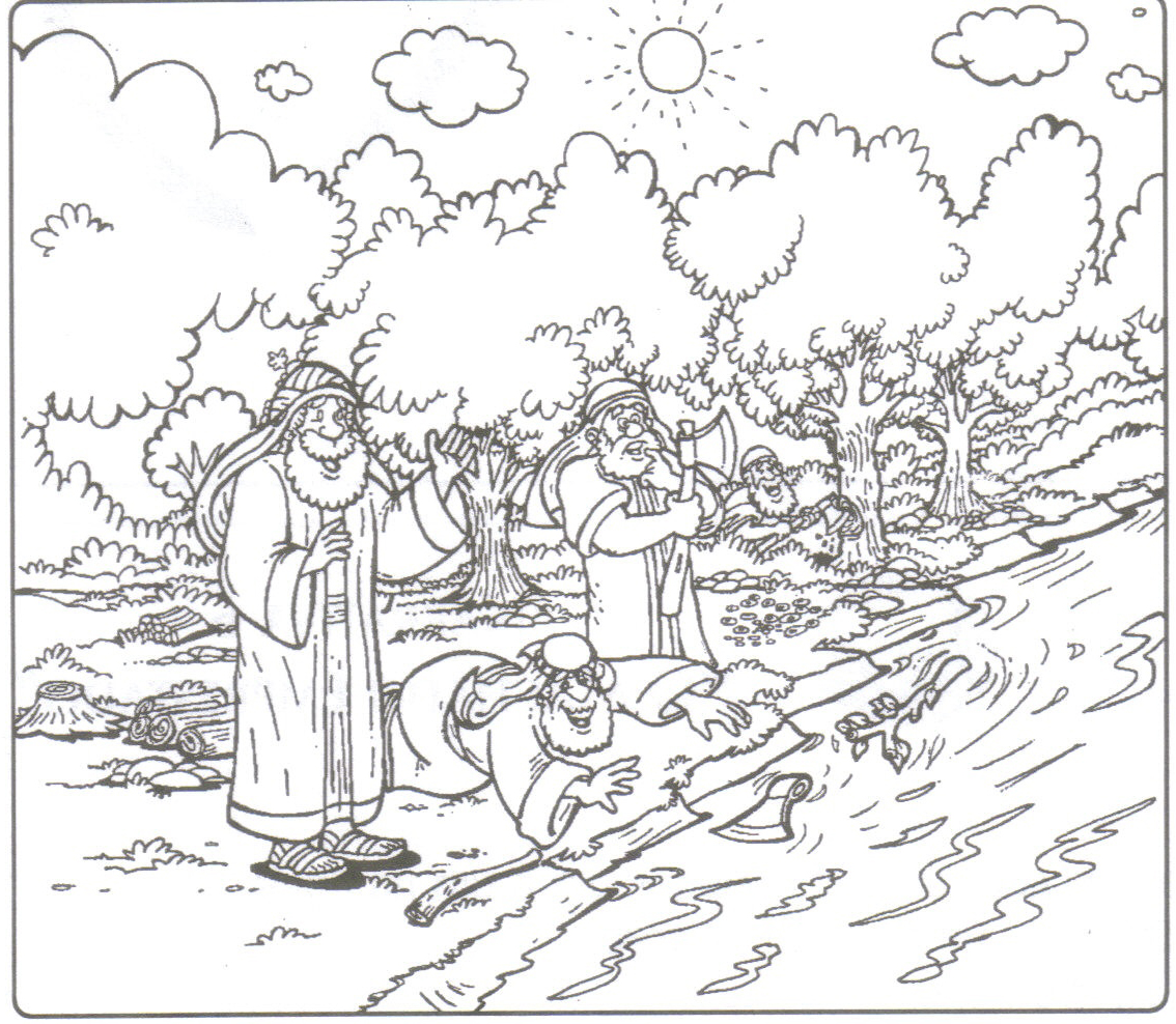 Elisha Poisonous Stew And Coloring Coloring Pages