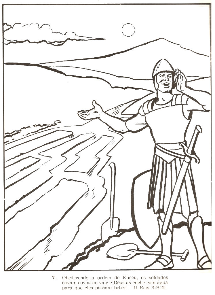Elisha Coloring Pages 2 Kings 6 17 Coloring Pages