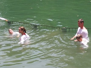 Private Israel tour: Baptism in Jordan River