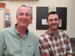 Pastor visiting Israel