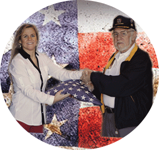 JES Celebrates Flag Day - Giving Back