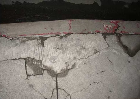 Cracked basement floors and leaks through basement floors are caused by hydrostatic pressure, a fail sump pump or failed drain tile