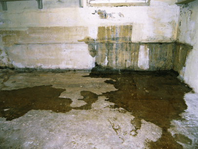 leaking basement