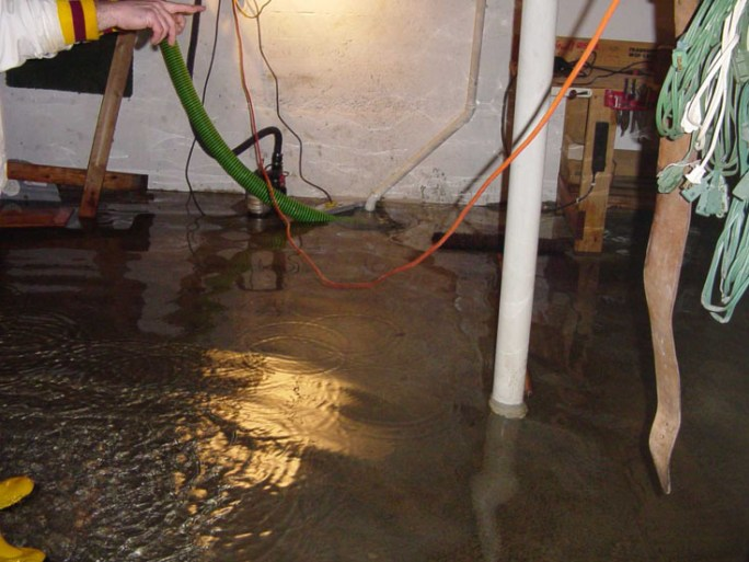water seepage in your basement