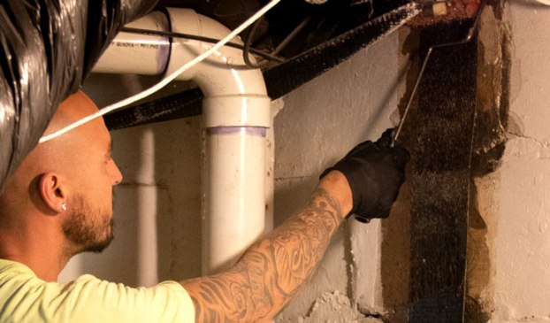professional basement wall sealant