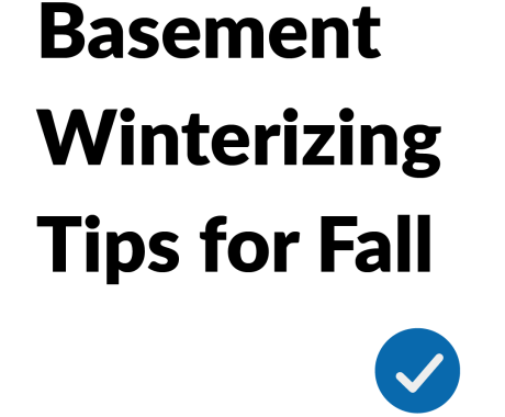 Get Ready for Cold Weather with these Basement Tips