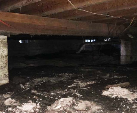Controlling Humidity In Your Crawl Space