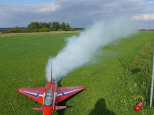 Eurofighter mit Smoker