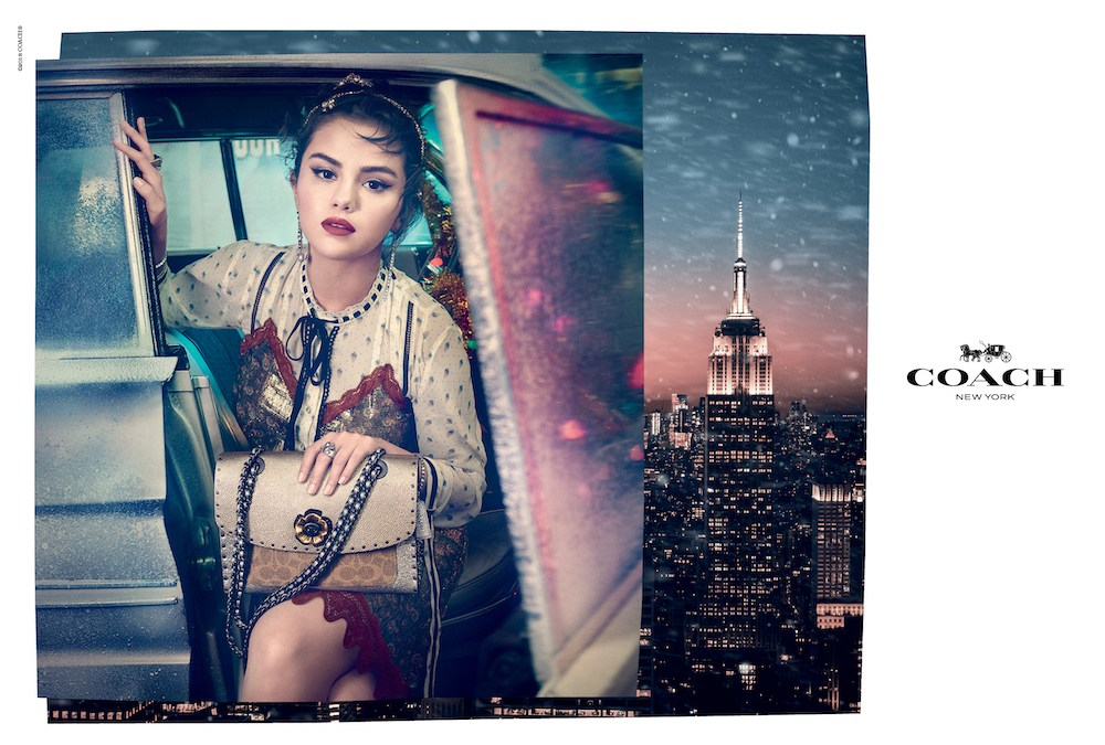 Coach Presents Lights, Camera, Holiday with Selena Gomez