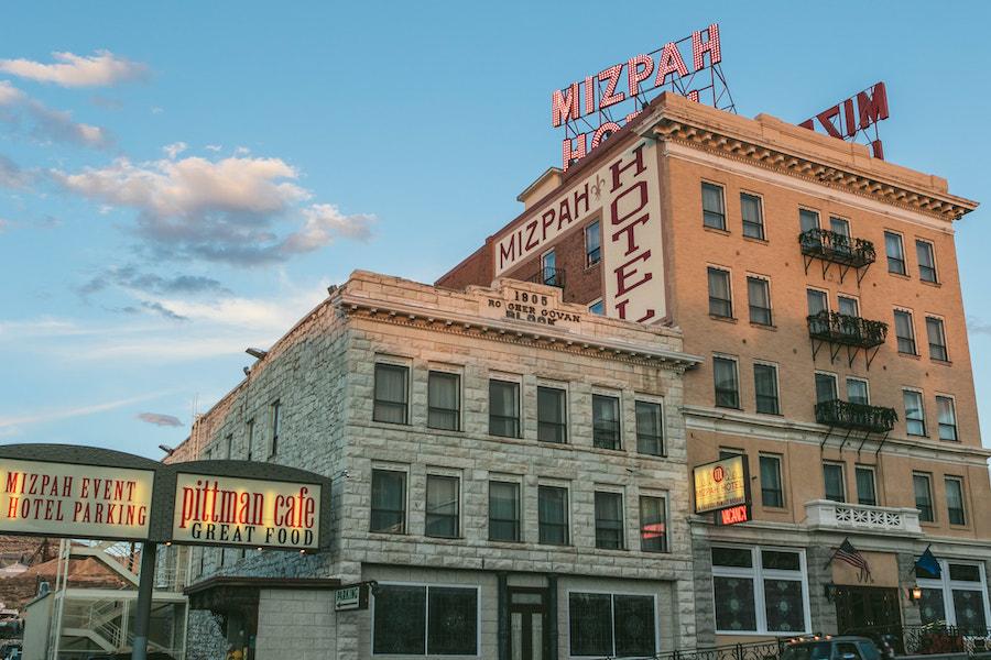 Le Mizpah Hotel au Nevada élu hôtel le plus hanté des Etats-Unis par USA Today