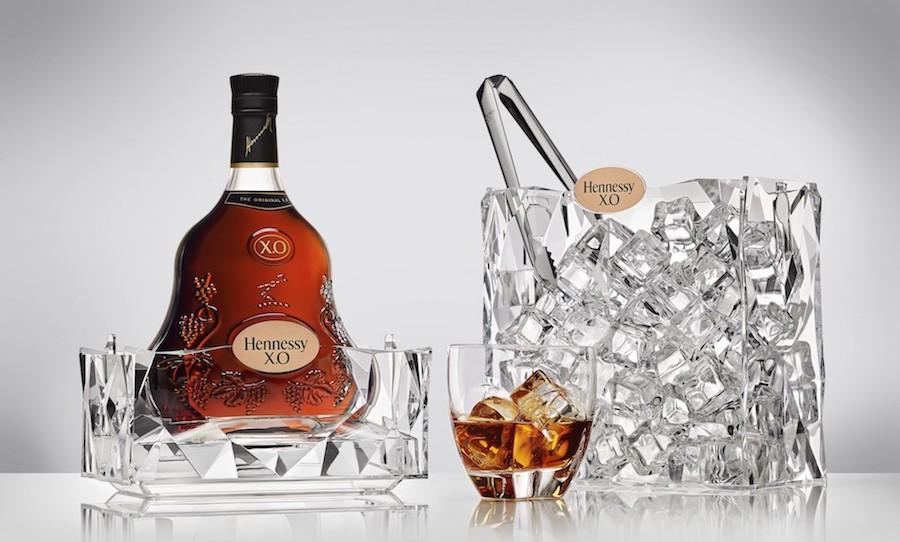 Coffret en édition limitée Hennessy X.O & Ice