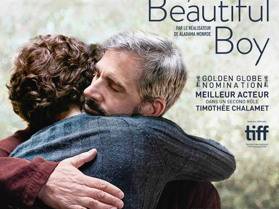 MY BEAUTIFUL BOY de FELIX VAN GROENINGEN avec  STEVE CARELL, TIMOTHÉE CHALAMET