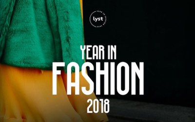 Year in Fashion 2018 : une rétrospective mode et luxe by Lyst