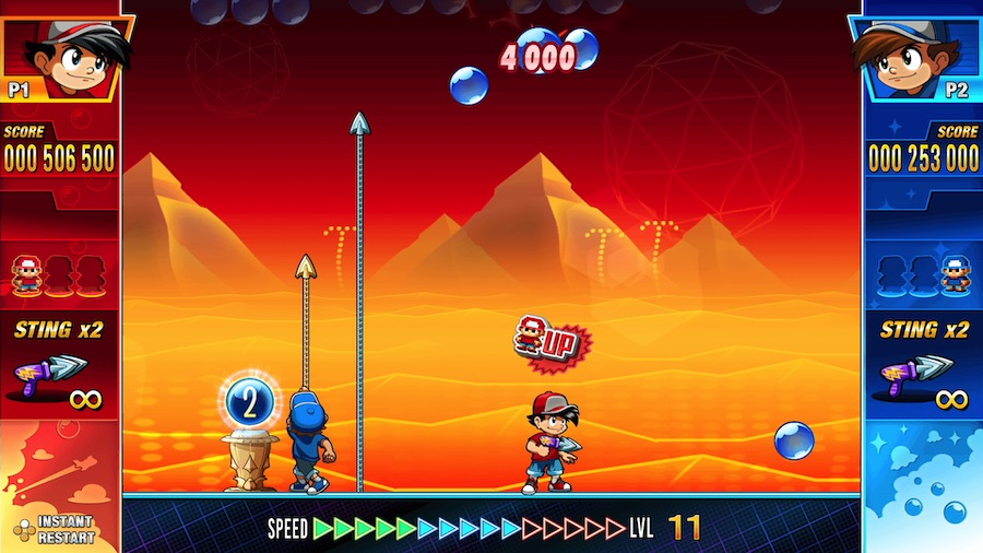 Pang Adventures sur Nintendo Switch