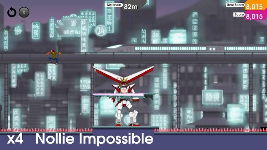 OlliOlli: Switch Stance : la légende du skate revient sur Nintendo Switch