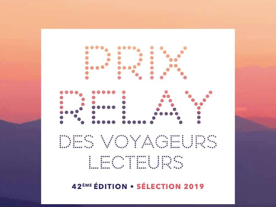 42ème édition du Prix Relay des Voyageurs Lecteurs
