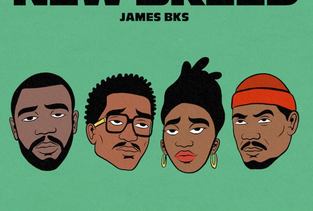 James BKS – New Breed feat. Q-Tip, Idris Elba & Little Simz