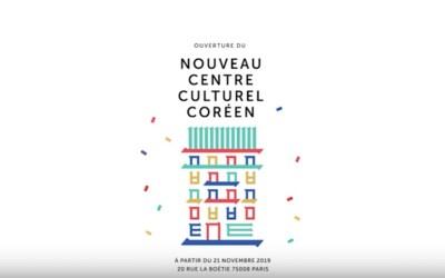 Le Centre Culturel Coréen, haut lieu de la culture coréenne à Paris