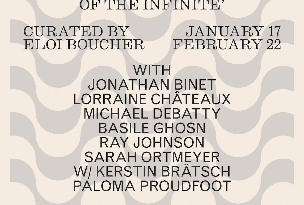 Expo : Sans titre (2016) – A Shelter in the Folds of the Infinite, curated by Eloi Boucher