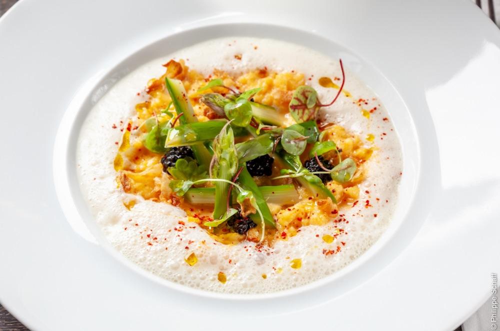 La recette des œufs brouillés du Chef Gilbert Benhouda – Restaurant Sapristi
