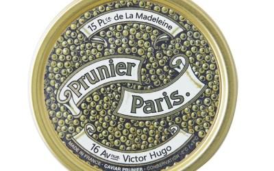 Prunier dévoile le Caviar Siècle et réédite la première boîte de caviar lancée en 1920