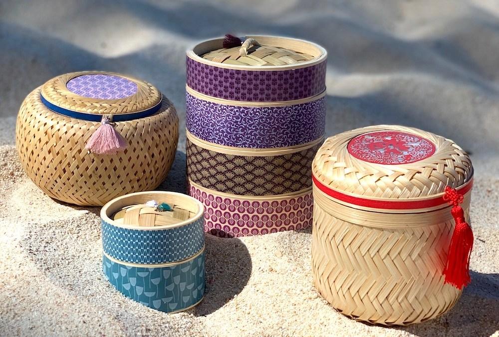 SAN | XIA revisite les paniers à vapeur et les boîtes à thés traditionnels asiatiques