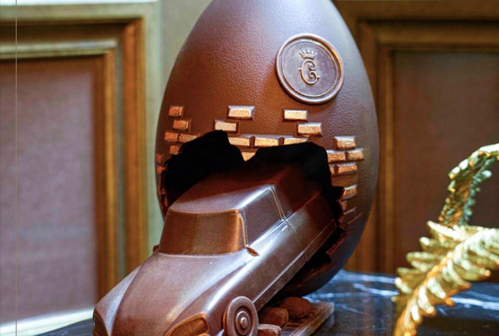 L'Oeuf de Pâques de l'Hôtel de Crillon, une création unique en édition limitée par Matthieu Carlin