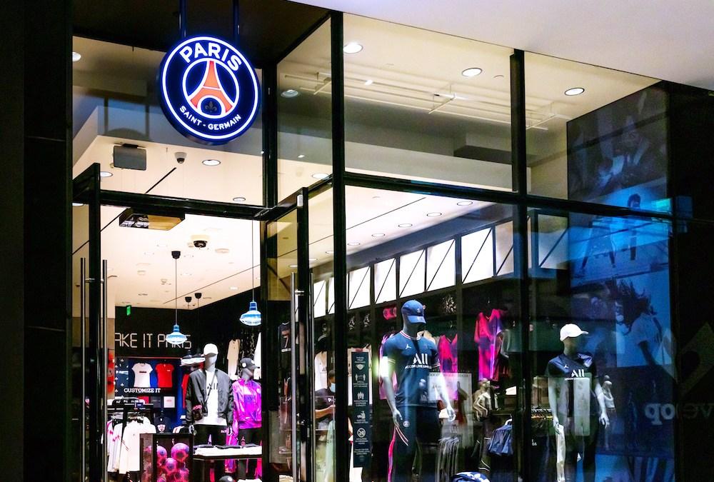 Le Paris Saint-Germain ouvre une boutique permanente à Los Angeles
