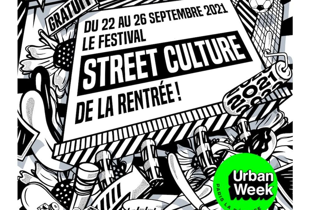Urban Week Paris La Défense, du 22 au 26 septembre 2021