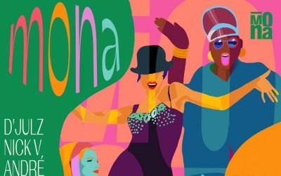 La Mona, Dimanche 11 Juillet à 14h avec Djulz, Nick V, André et du Waacking avec Mounia