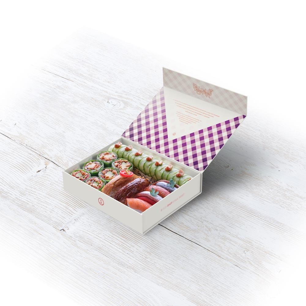 SUSHI SHOP X PAUL PAIRET BOX – LIMITED EDITION - OUVERTE 1