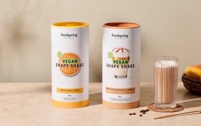 Foodspring dévoile 2 éditions limitées de Vegan Shape Shake