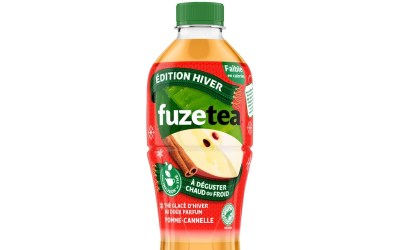 Edition hiver Fuze Tea saveurs Pomme Cannelle (chaud ou froid)