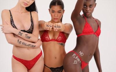 Scandale éco-lingerie pour une nouvelle sensualité alliant éthique & respect de la planète