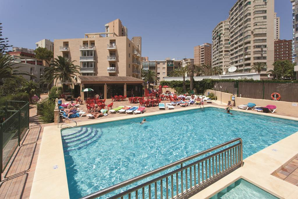 sofa beds costa blanca tufted back sectional palm court apartments, benidorm   voyager travel direct
