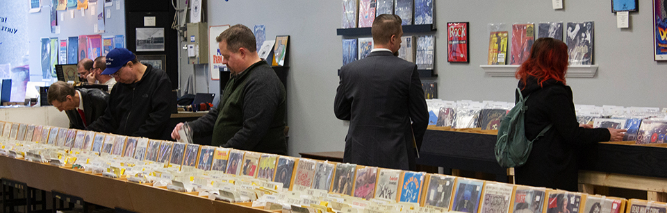 Extensive selection of new and vintage vinyl, CDs, and posters. We have something for everyone!