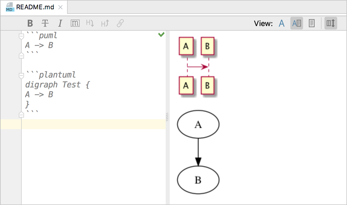 hight resolution of plantuml diagrams in markdown