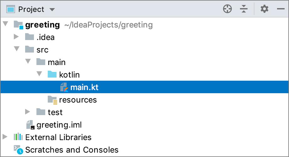 Tutorial: Create your first Kotlin application - Help   IntelliJ IDEA