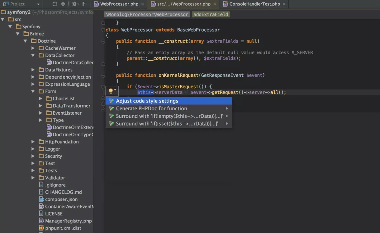 PhpStorm 2017.2.1 Crack With Keygen Download