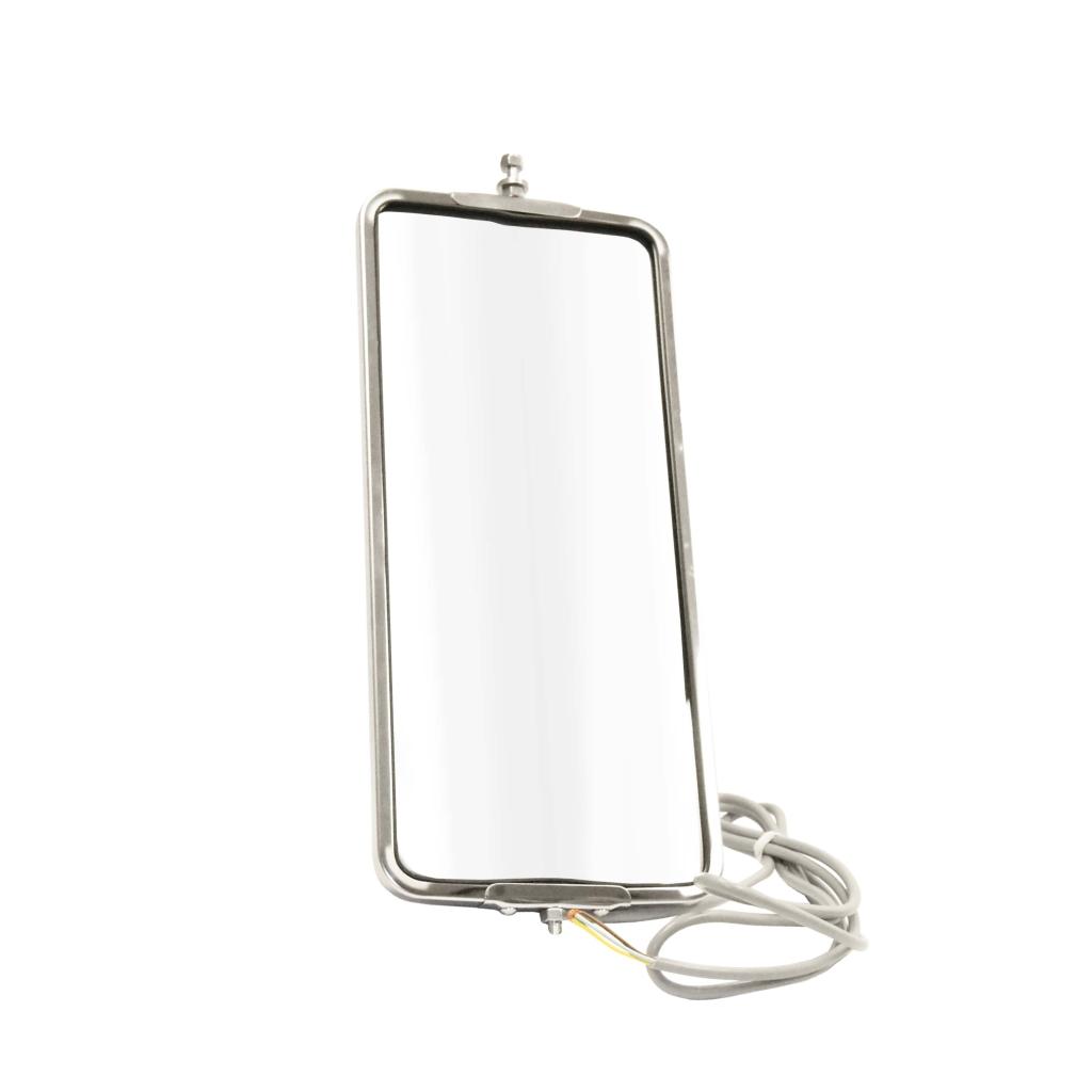 124 7 Heated West Coast Stainless Steel Mirror